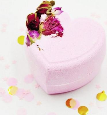 Бомбочка для ванны Мое пылающее сердце BOOM SHOP cosmetics 220 г: фото