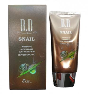 BB-крем с улиточным муцином Ekel BB Cream Aenepure Snail SPF50+ PA+++ 50 мл: фото