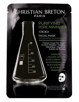 Чёрная маска для глубокого очищения Christian Breton Age Priority 20мл*3шт: фото
