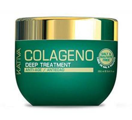 Маска для волос с коллагеном Kativa COLAGENO 250 мл: фото