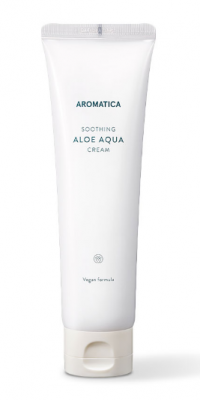 Органический увлажняющий крем с алоэ вера Aromatica Soothing Aloe Aqua Cream 150г: фото